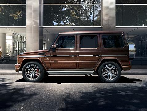 La Clase G de Merceces-Benz: el número uno sobre cualquier terreno