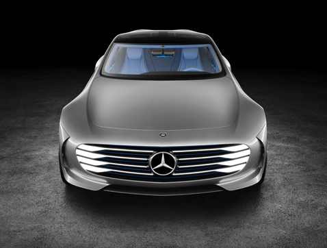Mercedes-Benz 'Concept IAA', aerodinámica inteligente
