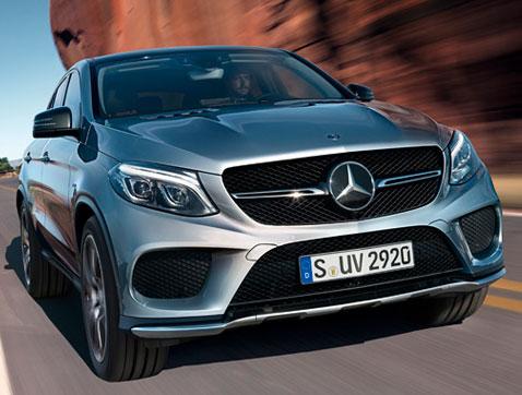 El nuevo Mercedes Benz GLC Coupé: poderoso en cualquier terreno