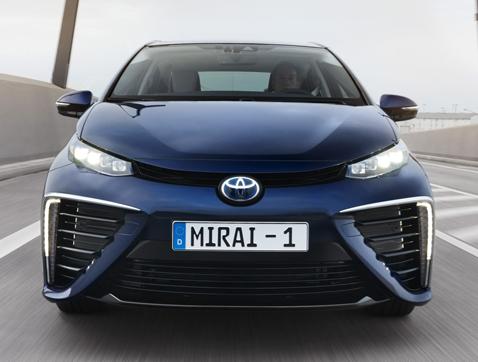 Toyota presenta el nuevo Mirai