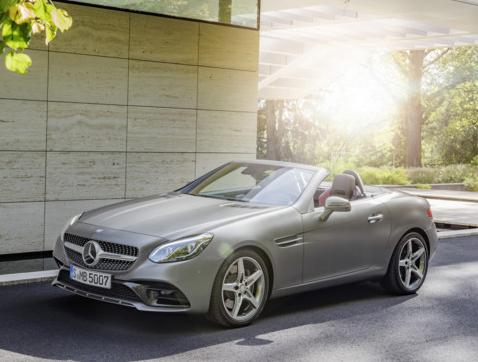 Presentado el nuevo Mercedes-Benz SLC 2016
