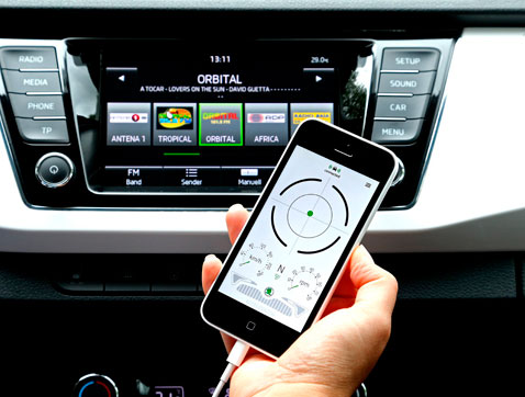 Škoda recibe el Premio Connected Car