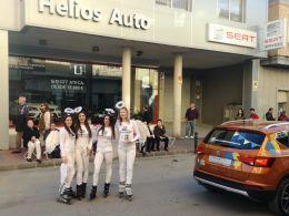Ginés Huertas Cervantes, con los carnavales de Cabezo de Torres