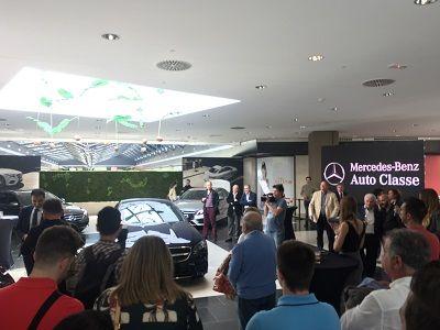 Mercedes-Benz presenta en Murcia el nuevo Clase E Coupé
