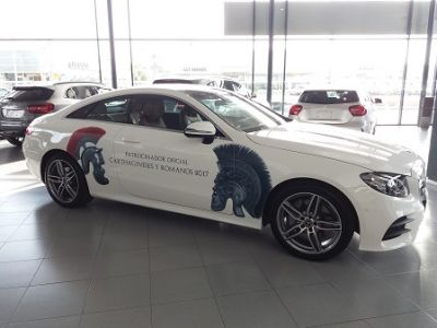Mercedes-Benz y Dimovil, patrocinadores de Carthagineses y Romanos