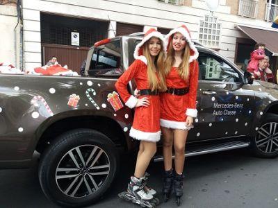 Papá Noel llegó a Murcia con Auto Classe y Mercedes-Benz