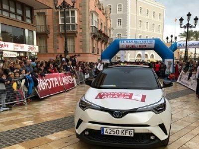 Toyota Labasa cierra el año en la San Silvestre de Cartagena