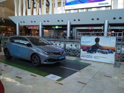 La gama híbrida de Toyota pasa por Nueva Condomina