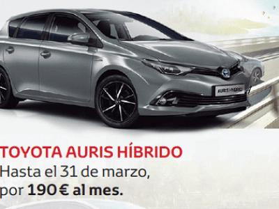 Más por menos en la gama Toyota