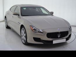 Coches segunda mano - Maserati Quattroporte 3.0 V6 Diésel 275cv en Zaragoza