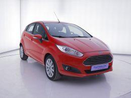 Coches segunda mano - Ford Fiesta 1.5 TDCi 95cv Titanium 5p en Zaragoza