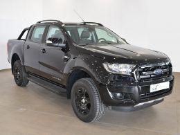 Coches segunda mano - Ford Ranger 2.2 TDCi 118kW 4x4 Dob Cabina XLT Ltd AT en Huesca