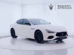 Coches segunda mano - Maserati Ghibli GranSport 2.0 L4 Hybrid-Gasolina en Zaragoza