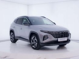 Coches segunda mano - Hyundai Tucson 1.6 TGDI HEV Tecno Auto 2C en Zaragoza
